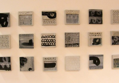 Solo-Exhibition, Kunstverein Münsterland, Coesfeld, 50 tiles of porcelain